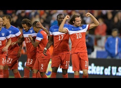 World Cup 2014 US vs Azerbaijan Mix Diskerud scores