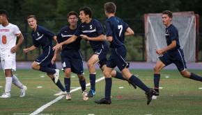 Berman celebrates goal vs Danbury 2014
